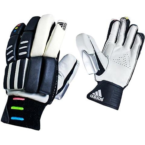 Adidas Performance CX11contea di cricket–Guanti a percussione–destrimano/mancino–ragazzo–bianco, bianco, Linkshänder - Jungen (klein)