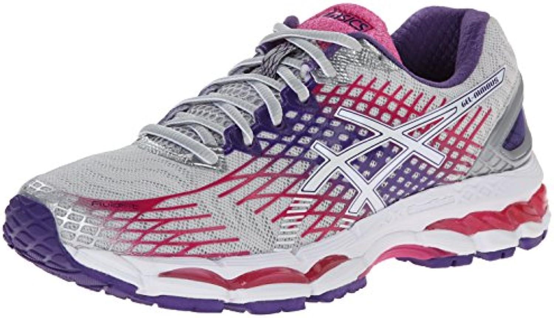 Asics Gel-Nimbus 17 Mujer US 6 Gris Estrechos Zapato para Correr