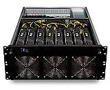 bold. Mining Rig Computer • 8x GTX 1070 • optimierter GPU-Miner für Crypto-Währungen • Ethereum • Monero • zCash • Bitcoin Gold • Litecoin • mit Mining Software Plug & Mine • Mining Server