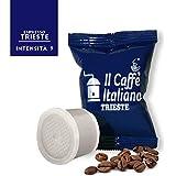 100 Cápsulas de Café compatibles Uno System sabor Café Trieste, 100 Cápsulas compatible con maquinas Uno System Paquete de 10x10 por un total de 100 Capsules, 100 cápsulas café molido,Il Caffè italiano