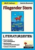 Fliegender Stern - Literaturseiten: Kopiervorlagen zur kapitelweisen Aufarbeitung der Lektüre