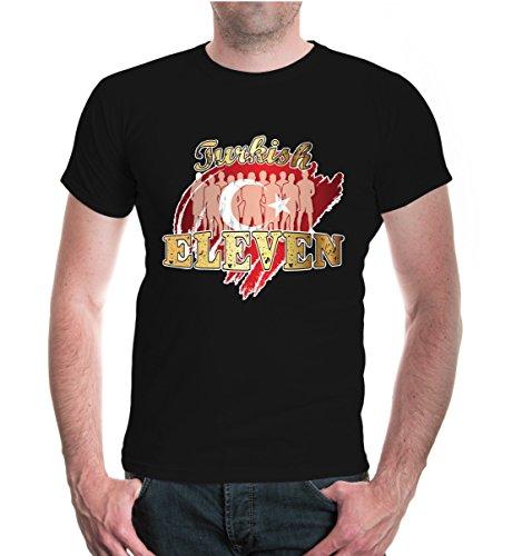 buXsbaum® T-Shirt Turkish Eleven Black-z-direct