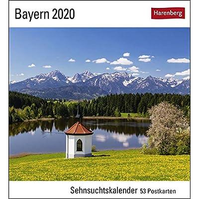 Bayern 2020: Sehnsuchtskalender, 53 Postkarten