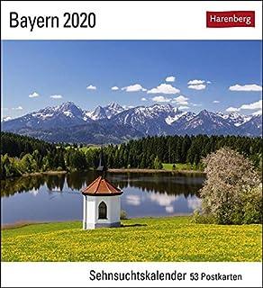 Bayern Postkartenkalender 2020. Wochenkalendarium. Blockkalender. Format 16 x 17,5 cm (3840021456) | Amazon price tracker / tracking, Amazon price history charts, Amazon price watches, Amazon price drop alerts