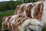 Lammfell Stracciatella 110 - 120 cm