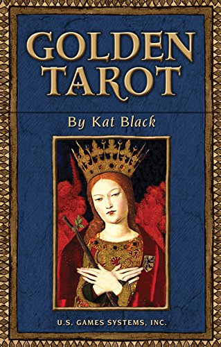 The Golden Tarot [With W 120 Page Book] (Einzigartige Deck-boxen)