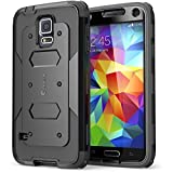 Best GALAXY WIRELESS Galaxy S5 Phone Cases - Galaxy S5 Case, i-Blason Armorbox Dual Layer Hybrid Review