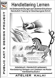 Padp Script 11 Handlettering Lernen Mit Schönschrift übungen Zum