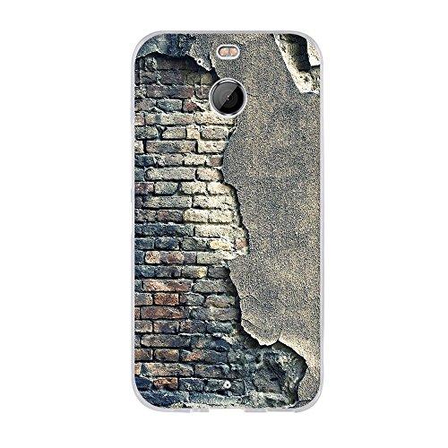 Fubaoda HTC 10 EVO/HTC Bolt Hülle,Hochwertiger Ultra Dünn TPU Silikon Bumper, Kunst Design Zeichnung[Alte Mauer],Kratzfest Langlebig,Dauerhafter Schutz Handyhülle für HTC 10 EVO/HTC Bolt(5.5