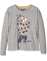 Tommy Hilfiger Nyc Girl Cn Knit L/s, T-Shirt Fille