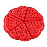 good Stil Silikon Waffeln Muffin Herzform Form Kuchen Schokolade Küche Backen Werkzeug New