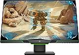HP 25x Gaming Monitor (24,5 Zoll / Full HD) Bildschirm (DisplayPort 1.2, HDMI 2.0, AMD FreeSync, 1920 x 1080 Pixel bei 144Hz, 1ms Reaktionszeit) schwarz