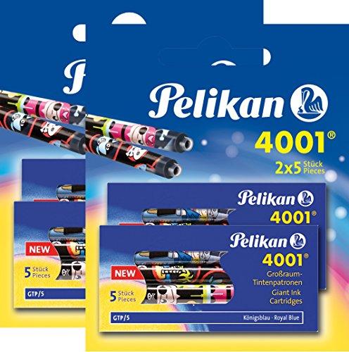 20 Tintenpatronen 4001 Großraum GTP löschbar