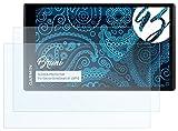 Bruni Schutzfolie für Garmin DriveSmart 61 LMT-D Folie - 2 x glasklare Displayschutzfolie