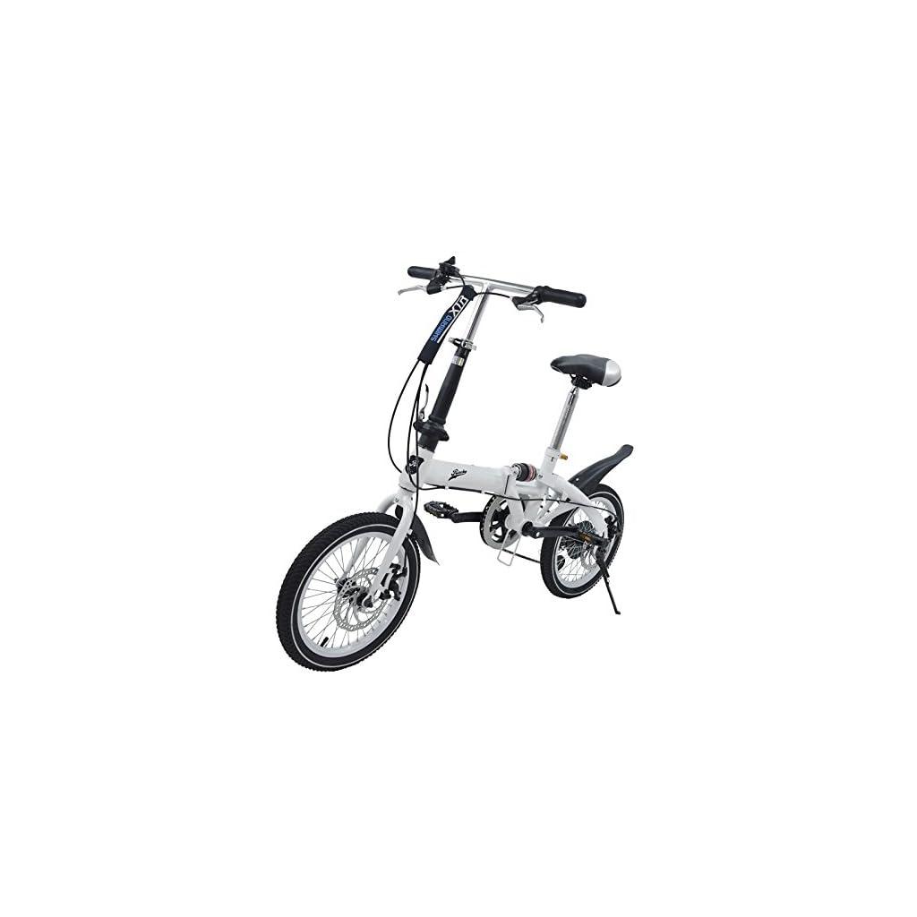 Riscko Super Bike Bicicleta Plegable Unisex de 16