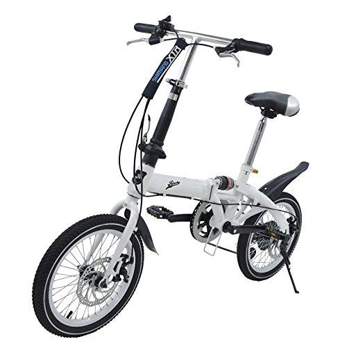 """Super Bike Faltrad Unisex-16\"""", weiß"""
