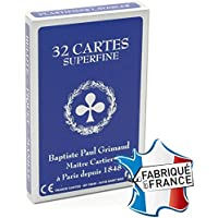 "Jeu de 32 cartes : Belote ""superfine"""