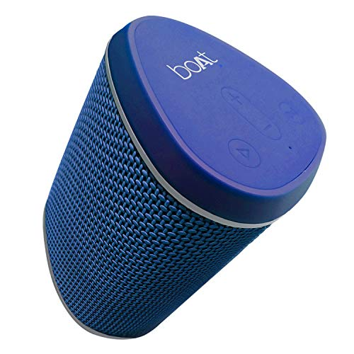 boAt Stone 170 Portable Bluetooth Speakers with True Wireless Sound, Compact IPX 6 Water Resistant Design and HD Sound (Cobalt Blue)