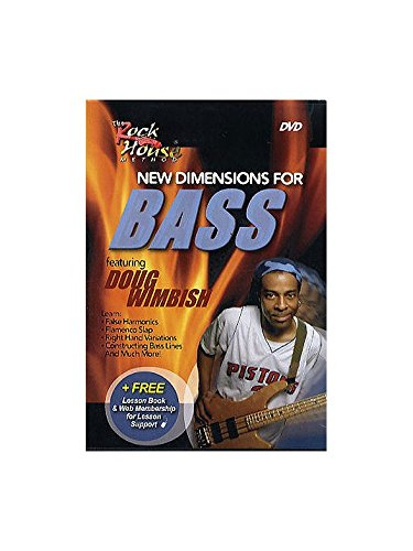 Rock House: New Dimensions For Bass DVD. Für Bassgitarre