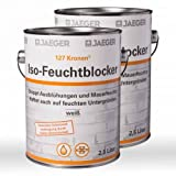 2 x Jaeger Kronen Iso-Feuchtblocker 127 2,5l