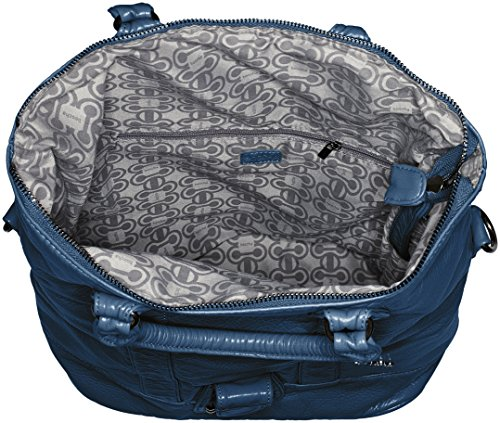 Petrol Boscha Bag Zip Boscha Shopper Blu Bag cartella Zip Donna TqxAw5zRw