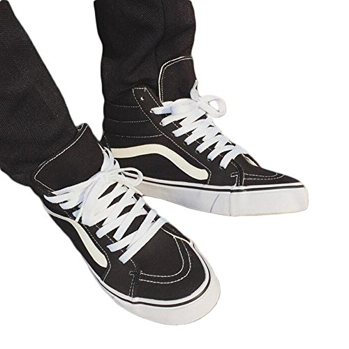 Mr. LQ - Man'S Casual Canvas Shoes White