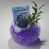 'Aqua Crystal' Expanding Water Storing Gel Bead Crystals - PURPLE - 20g bag