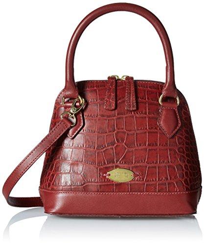 Hidesign Women's Mini Shoulder Bag (Red)