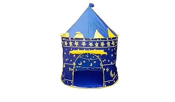 JMNyxgs Portable Kids Play Tent Foldable Castle Playhouse