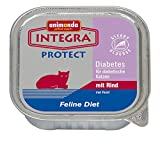 Animonda Integra Protect Diabetes mit Rind, 16er Pack (16 x 100 g)