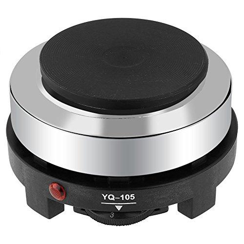 Réchaud Électrique Multifonctionnel Portable 220V 500W Mini Plaque de Cuisson Chauffante