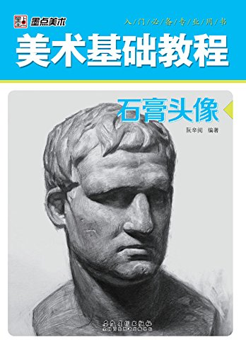 墨点美术-美术基础教程-石膏头像 (English Edition) por 辛阅 阮