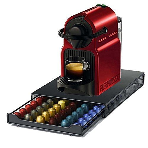 Ever Rich ® Cajón de almacenamiento de cápsulas Nespresso (Estilo de malla - Capacidad de 60 cápsulas)