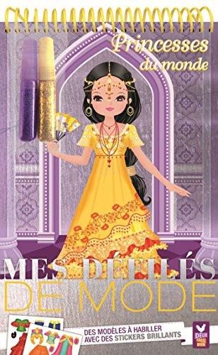 Princesses du monde - Bloc à spirale