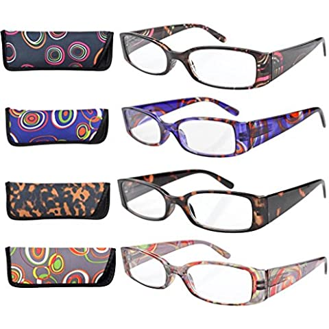Eyekepper Set di 4 paia di occhiali