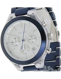 DKNY NY 8265 NY8265 - Reloj para mujeres, correa de aluminio color azul