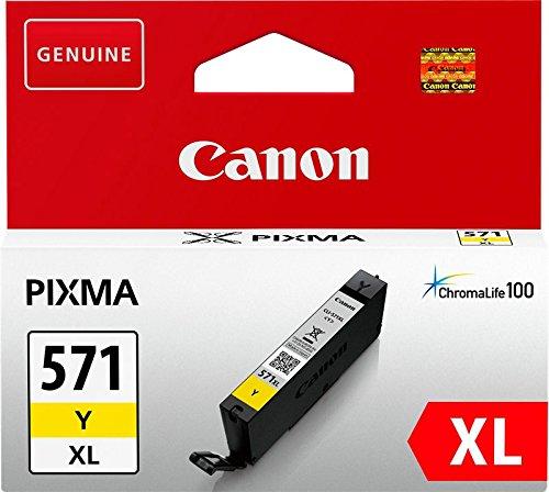 Canon CLI-571XL Cartouche Y Jaune XL (Emballage carton)