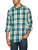 Timberland Long Sleeve Meriden Plaid Men's Shirt
