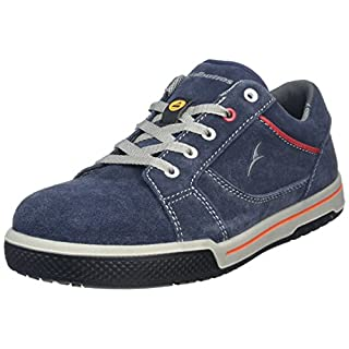 Albatros Freestyle Blue LOW, Unisex-Erwachsene Sicherheits-Sneakers, Blau (blau), 42 EU