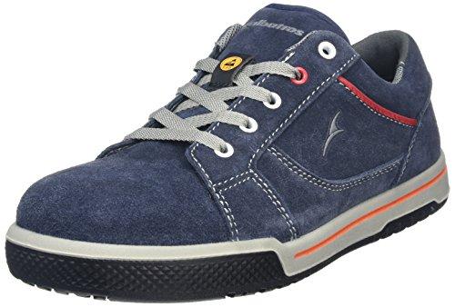 Albatros Freestyle Blue LOW, Unisex-Erwachsene  Sicherheits-Sneakers, Blau (blau), 44 EU