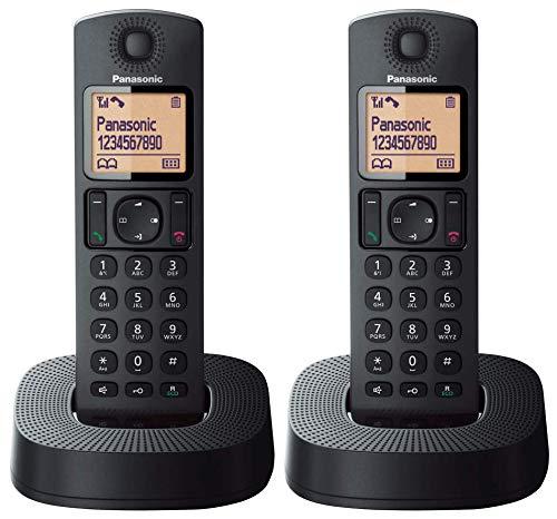 Panasonic TGC312SPB- Teléfono Fijo Inalámbrico Dúo