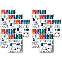 STAEDTLER Lumocolor whiteboard marker (6 pezzi, 10x Punta rotonda)