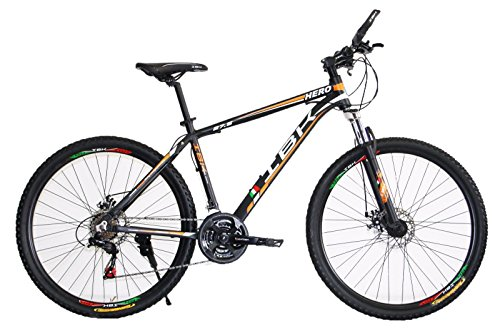 BICI BICICLETTA MTB IBK 27.5 HERO 7 VEL. SHIMANO FRONT SUSPENSION MOUNTAIN BIKE