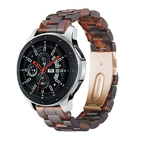 YaYuu 22mm Ultraligero Resina Correa Banda Reloj Samsung