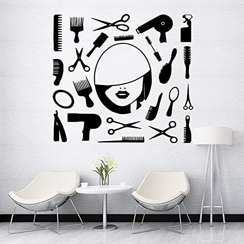 Ajcwhml Dekorationskinderzimmer der Schönheitssalonausgangsdekoration modernes natürliches dekoratives Wandplakat