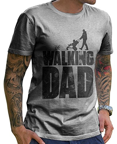 Stylotex-Herren-T-Shirt-Basic-The-Walking-dad  Stylotex Herren T-Shirt Basic The Walking dad 519m5MUQ2TL