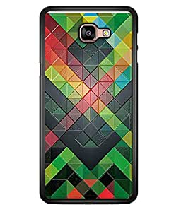 PrintVisa Designer Back Case Cover for Samsung Galaxy A9 (2016) :: Samsung Galaxy A9 Pro (2016) (Jaipur Rajasthan Tribal Azitec Mobiles Indian Traditional Wooden)