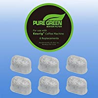 6 Replacement Charcoal Water Filters for Keurig Coffee Machines