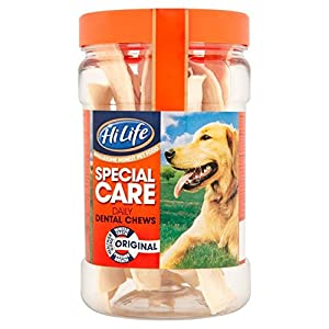 HiLife Special Care Daily Dental Dog Chews Original Jar x 12 (Pack Of 3, Total 36 Chews)