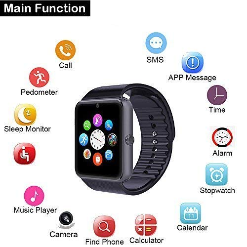 Zoom IMG-1 willful smartwatch android ios smart